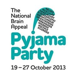 National Brain Appeal Pyjama Party.