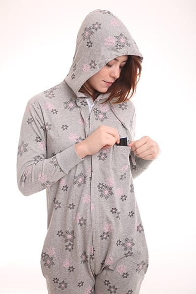19d76169fc Limited Availablility Adult Onesies - Snowflake - Funzee