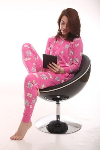 Snuggly sleepwear for the home worker