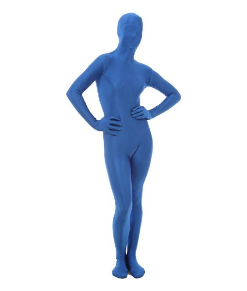 Blue Funskin - Spandex bodysuit