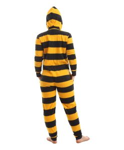 Bumble Onesie - Black and Gold Stripes