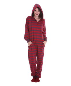 Retro Hooded Onesie