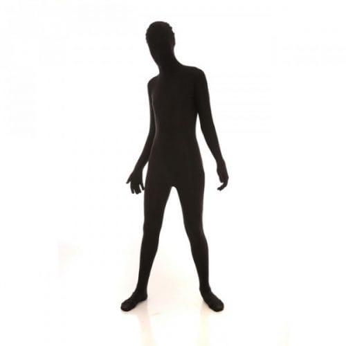 Black Funskin - Spandex bodysuit