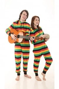 Reggae Funzee - Cotton Adult Onesie design for men and women