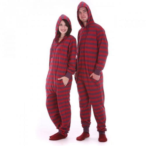 Retro Funzee Hooded - Adult Onesie