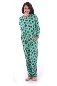 Onesie for All – Sheep on Green