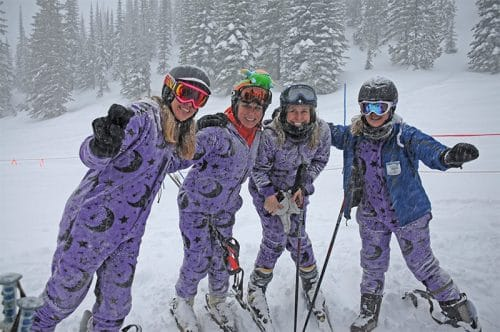 The best onesie for winter sports
