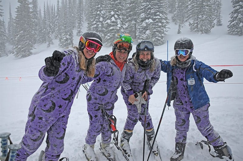 The best onesie for winter sports