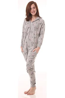 32a044f28f75 Limited Availablility Adult Onesies - Snowflake - Funzee