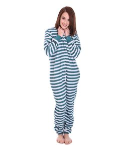 Minty Striped Onesie