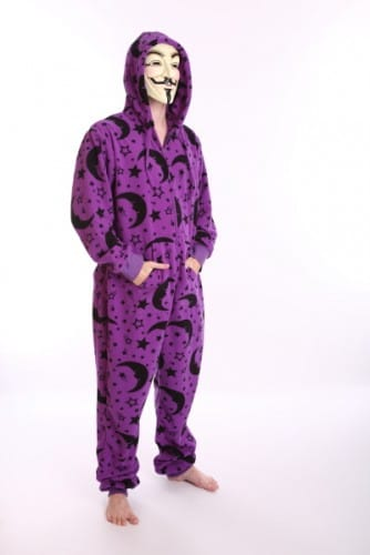 Wear sexy wizard onesie pyjamas to bed