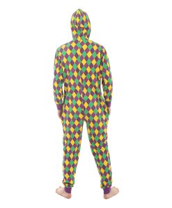 Harlequin Unfooted Onesie