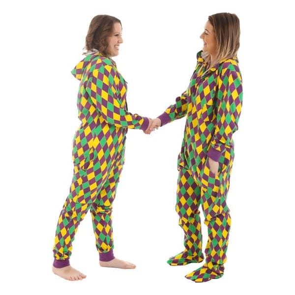 Halloween Ideas Harlequin Onesie