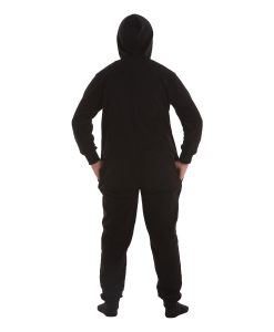 Jet Black Footed Pyjama Suit