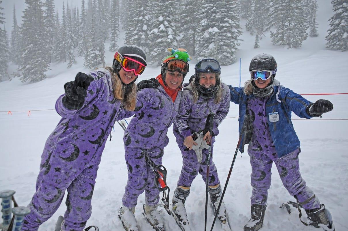 Onesies are Versatile - Ski Wear