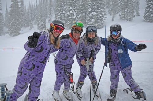 Onesies are Versatile - Ski Wear