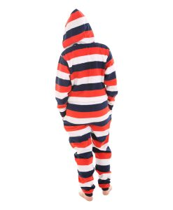 Red, White n Blue Hooded Onesie