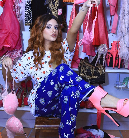Glamour models love pyjamas