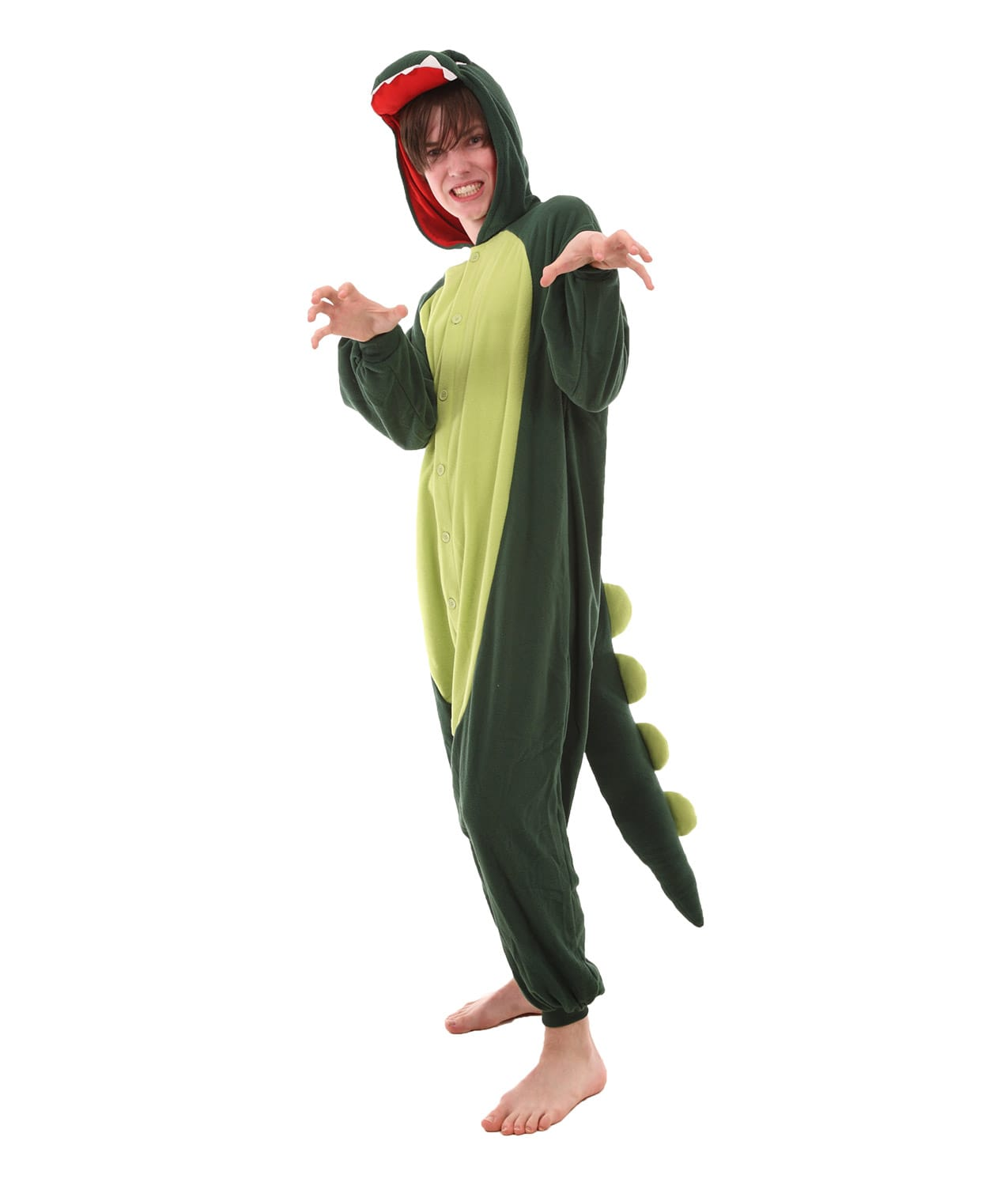 dinosaur animal adult onesie hear me roar funzee