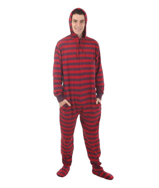 Retro Footed Pyjama Suit