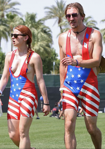 USA Flag Cool Sleepwear for Hot Nights