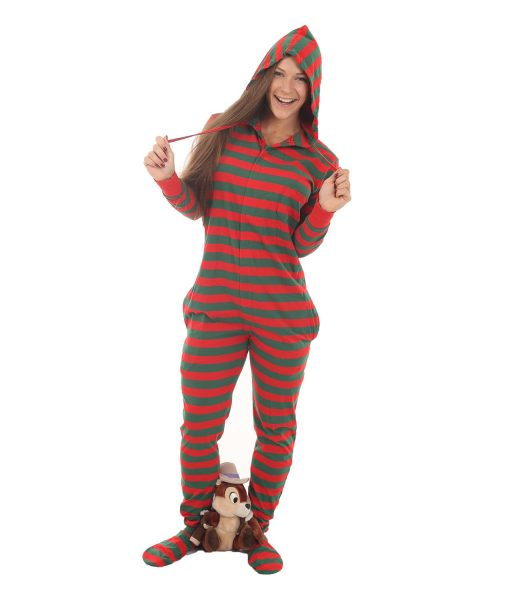 Red Green Stripy Onesie