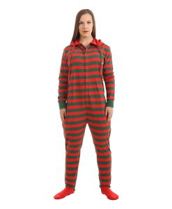 Elfie Festive Footed Onesie