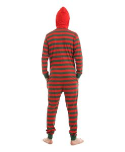 Elfie Unfooted Stripy Onesie