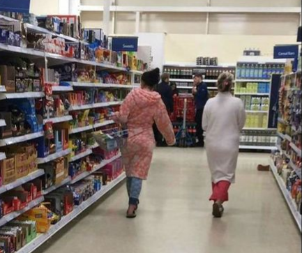 Sleepwear Nightmare at Tesco