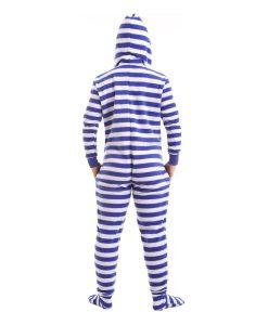 Nautical Footed Adult Onesie Pyjama Suit